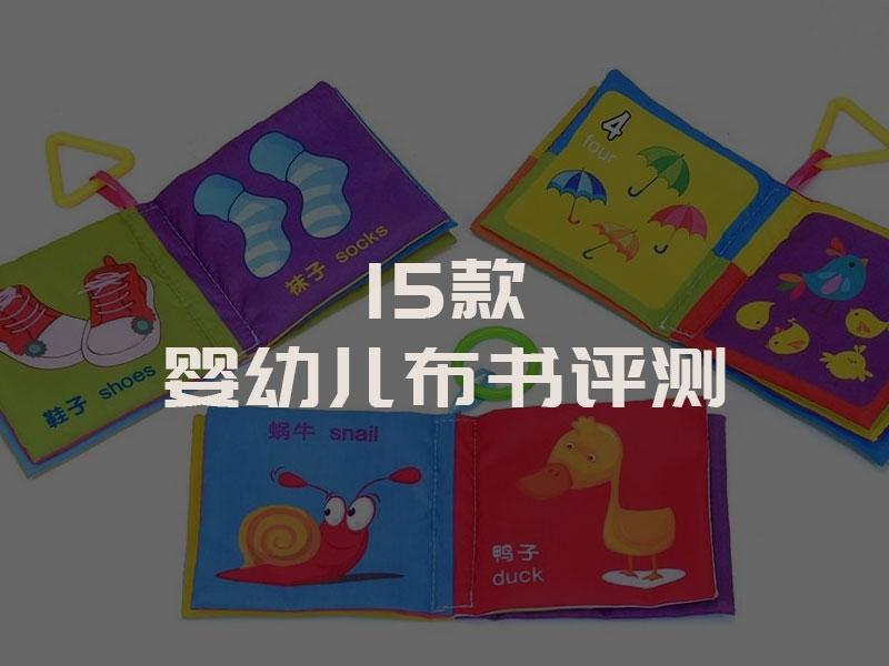 15款婴幼儿布书评测